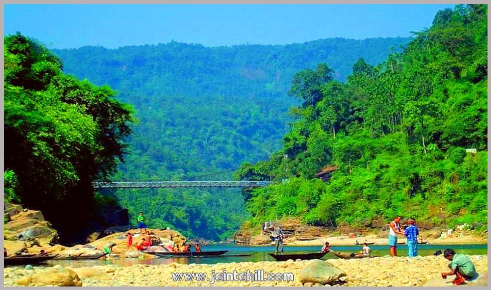 জাফলং-Jaflong-ঝুলন্ত-ব্রিজ