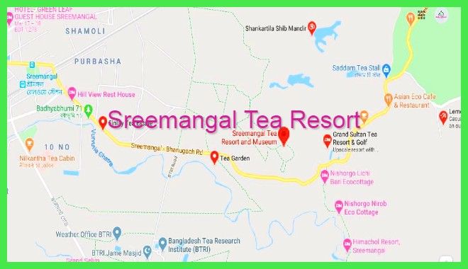 sreemangal-location-map